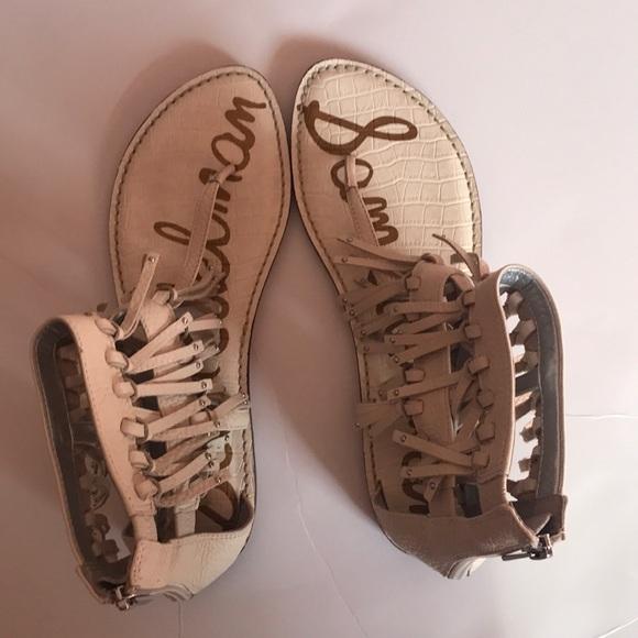 50eedc4614711 Sam Edelman Shoes - Sam Edelman Griffen Sandal with Leather Fringe